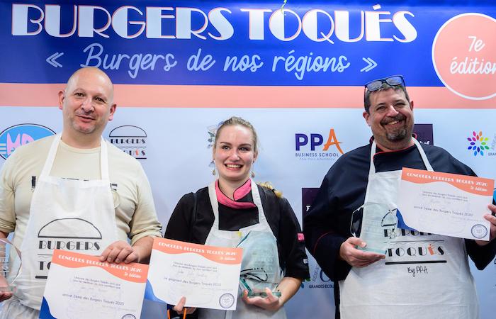 Burgers  Toqués  2020  podium