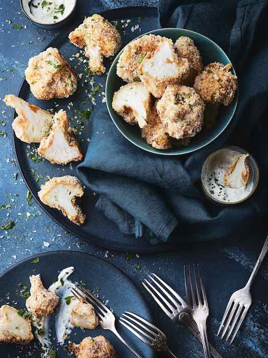 recette de Chou-fleur wings