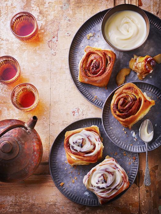 recette de Cinnamon rolls aux pommes