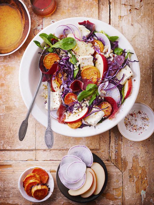 recette de Crunchy salad bowl