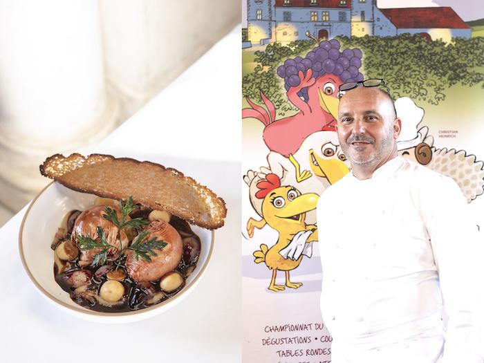 la recette de l'oeuf en meurette de Bruno Brangea