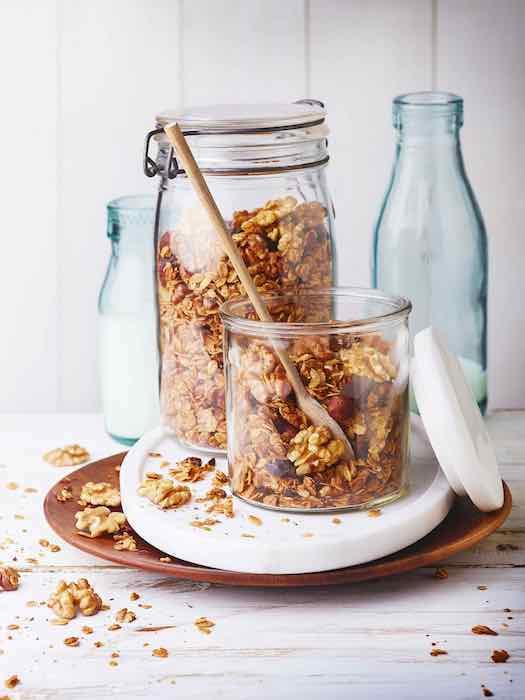 recette de Granola aux noix