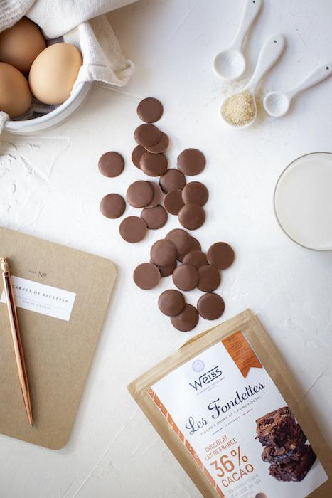 pastilles de chocolat Weiss