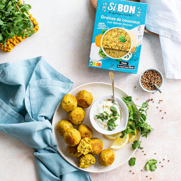 recette de Boulettes façon falafels