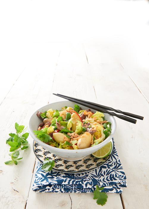 recette de Salade de Ratte au boeuf à la vietnamienne