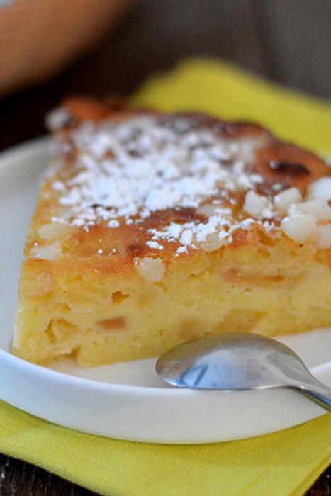recette de Gâteau madeleine aux pommes
