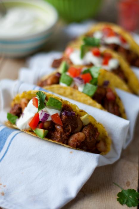 recette de Tacos de boeuf tex-mex