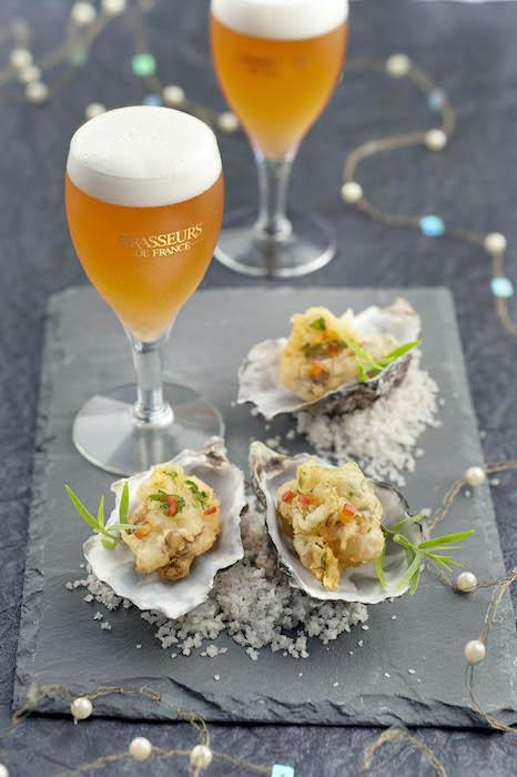 recette de Beignets d'huîtres aux herbes