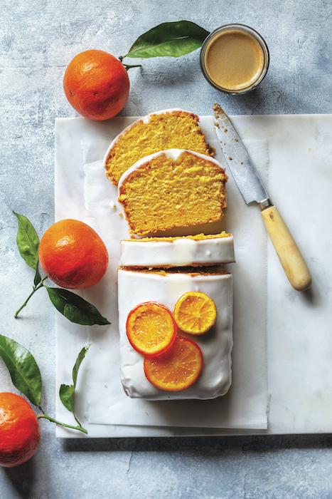 recette de Cake aux clémentines de Corse