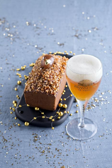 recette de Cake aux marrons glacés