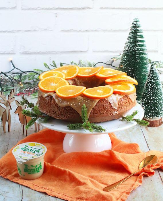 recette de Christmas cake aux agrumes