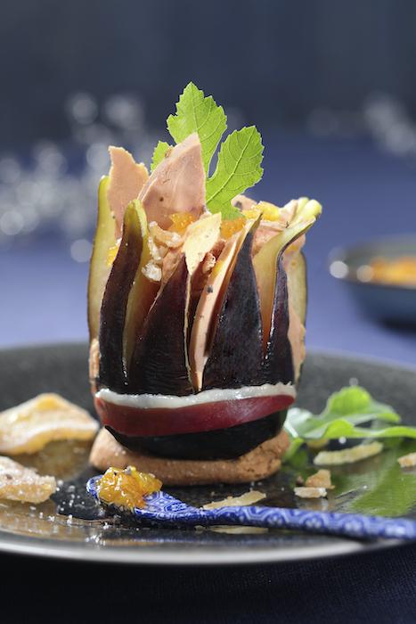 Recette de Foie gras en écrin de figue