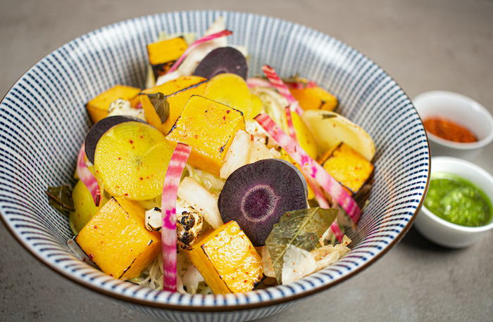 recette de Bio-bowl aux légumes d'hiver