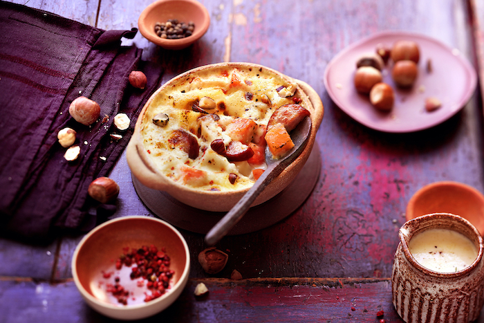 recette de Gratin d'automne aux patates douces