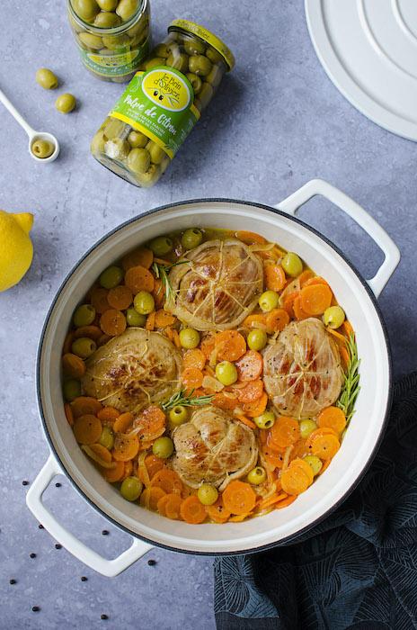 recette de Paupiettes de veau aux agrumes