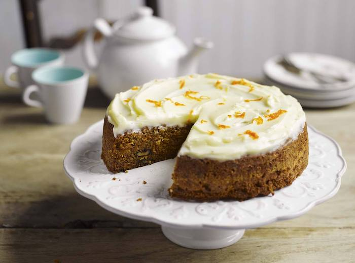recette de Carrot cake aux noix