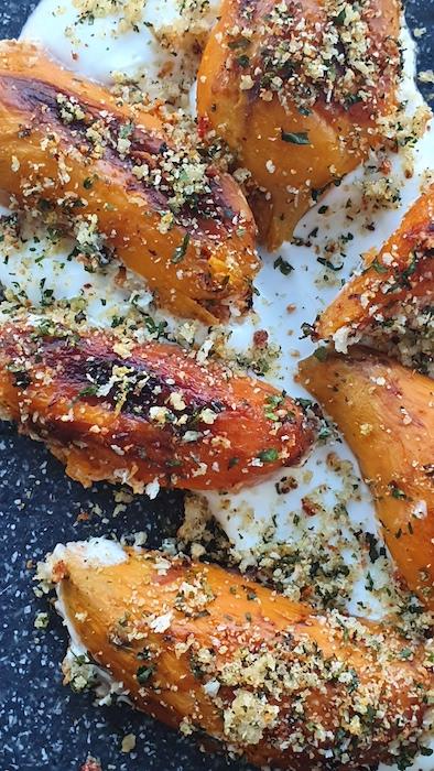 recette de Patates douces rôties et gremolata