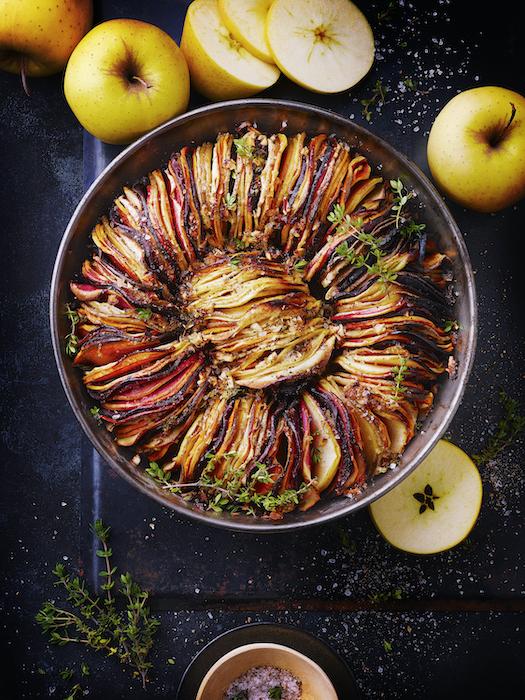 recette de Tian d'automne aux Pommes