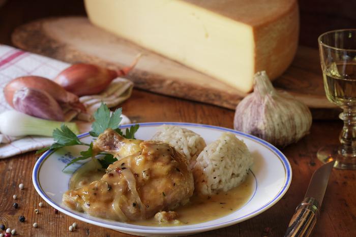 recette de Suprêmes de poulet et sauce à la Raclette