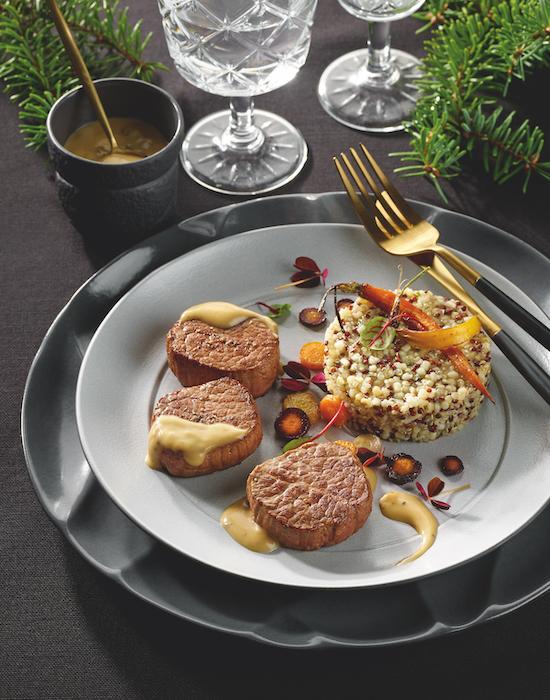 recette de Médaillons de boeuf à la truffe blanche
