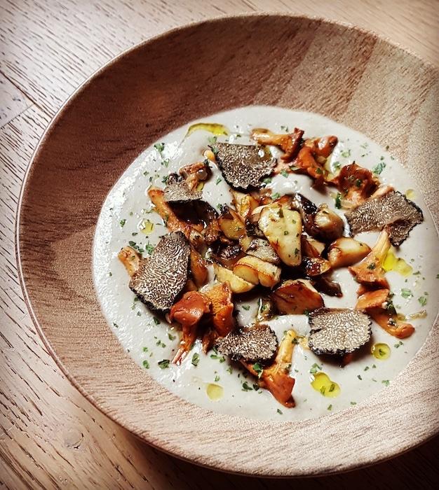 recette de Velouté tout champignon