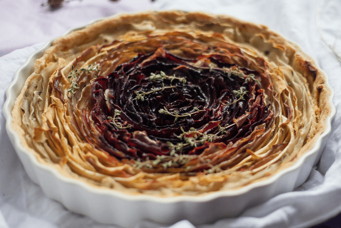Tartelettes fleur de légumes