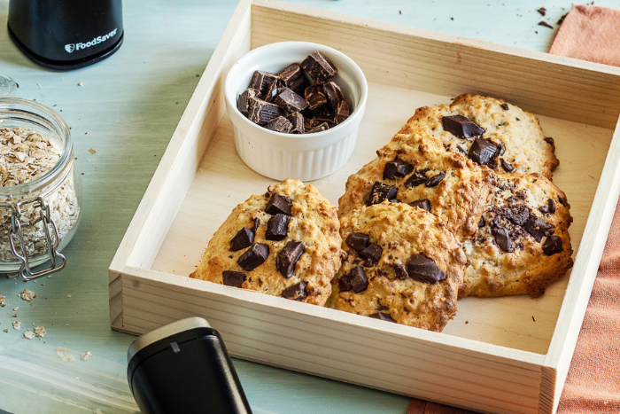 Biscuits banane chocolat