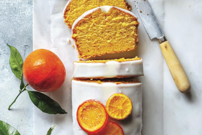 Cake aux clémentines de Corse