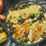 Escalopes de poulet à la suédoise