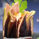 Foie gras en écrin de figue