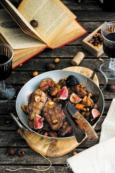 recette de Filets de colvert aux figues