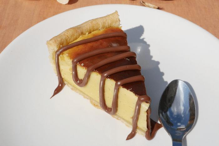Flan vanille et Nutella