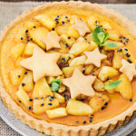 Tarte à l'ananas et fruits de la passion