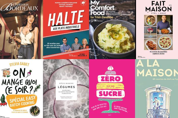 livres de cuisine de septembre 2020