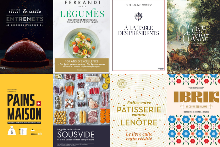 Voici les livres de cuisine de novembre 2020
