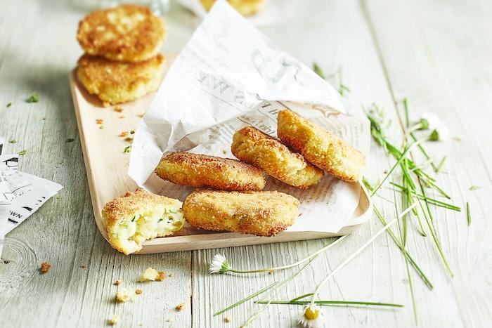 Croquettes de courgette au fromage