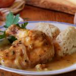Suprêmes de poulet et sauce à la Raclette