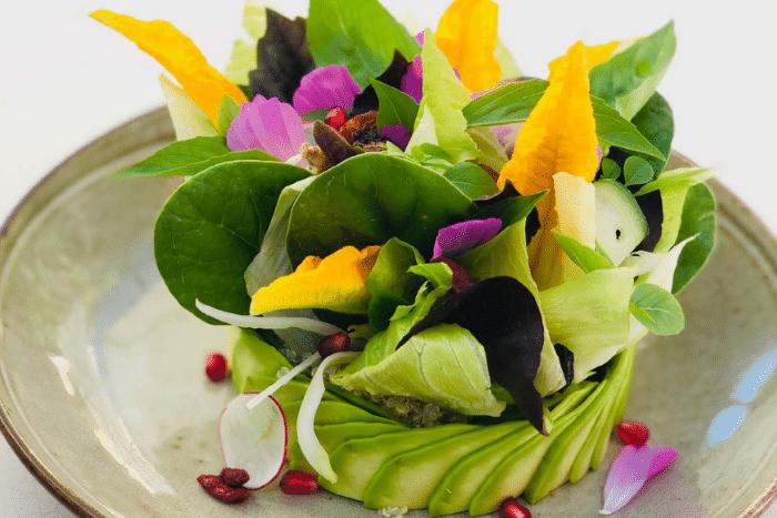 La salade du potager des Graniers