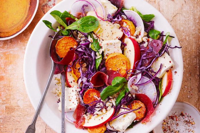 Crunchy salad bowl