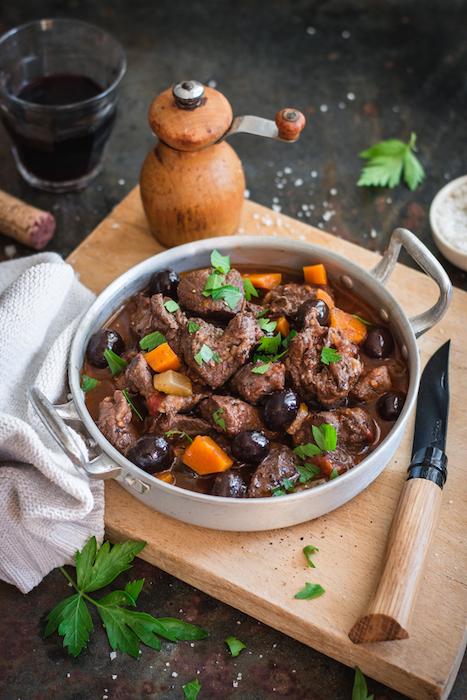 recette de Sanglier aux olives à la toscane