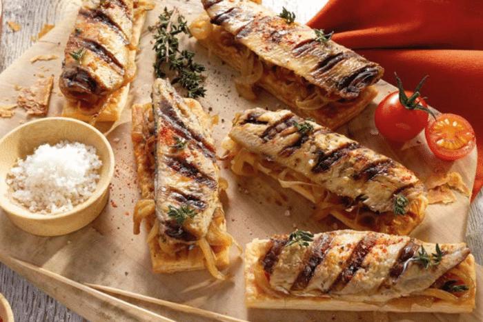 Tartines de sardines façon Pissaladière