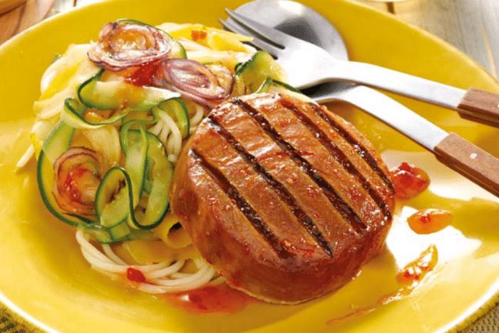 Spaghetti aux saveurs basques