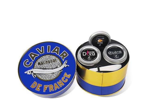 Les Français et le caviar