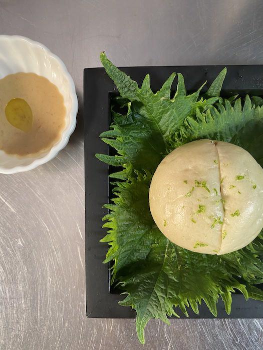 recette de Baos au confit de canard et curry