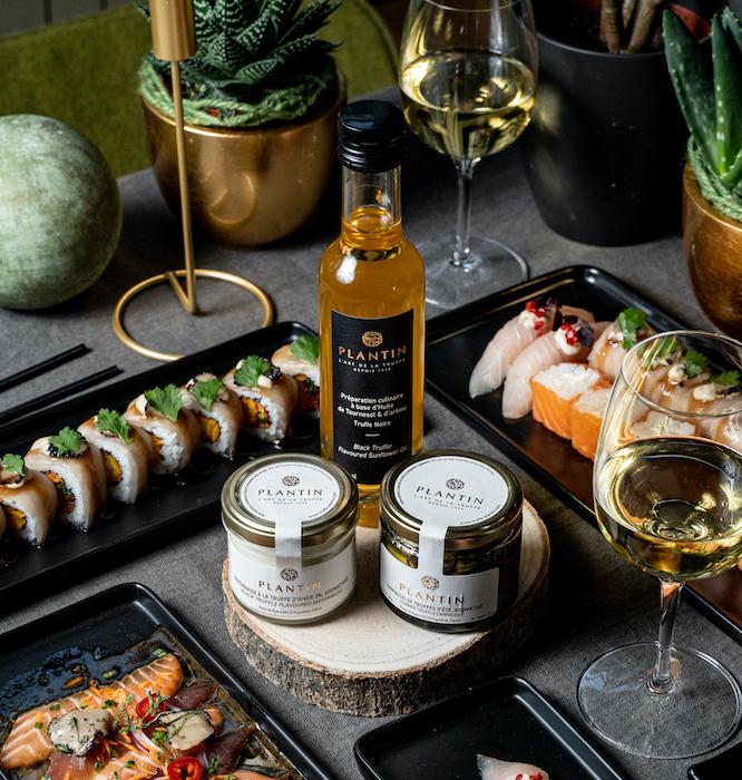 La Truffle Box Côté Sushi et Plantin
