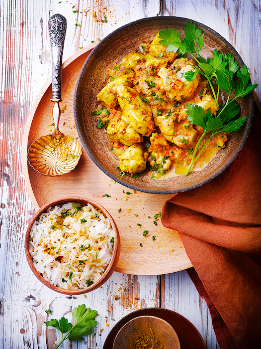 recette de Dahl au poulet