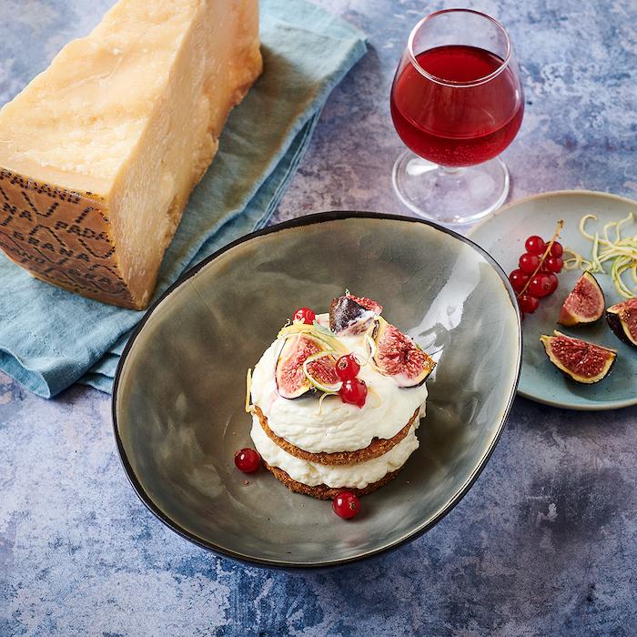 recette de Cheesecake au Grana Padano