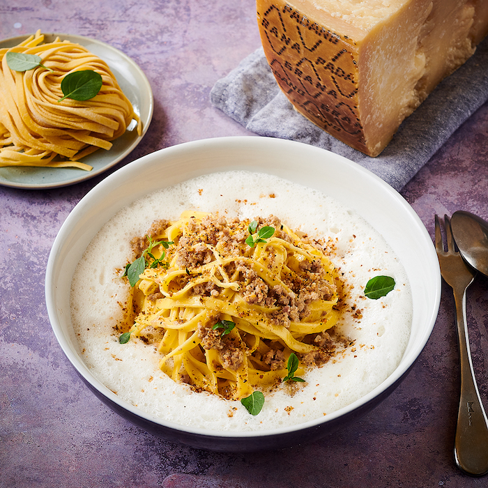 recette de Tagliatelle au ragù blanc