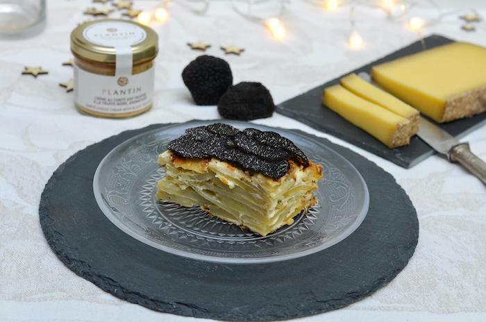 recette de Gratin dauphinois à la truffe noire