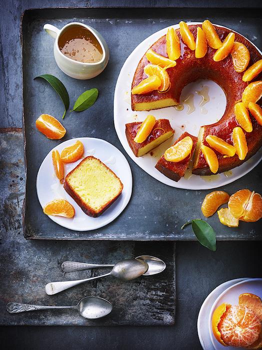 recette de Gâteau moelleux à la clémentine